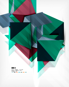 Geometric abstraction business poster. For banners, business backgrounds, presentationsのイラスト素材 [FYI03098121]