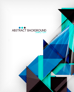 Triangle geometric shape abstract background. Bright abstractionのイラスト素材 [FYI03098236]