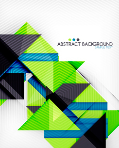 Triangle geometric shape abstract background. Bright abstractionのイラスト素材 [FYI03098237]