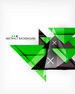 Triangle geometric shape abstract background. Bright abstractionのイラスト素材 [FYI03098241]