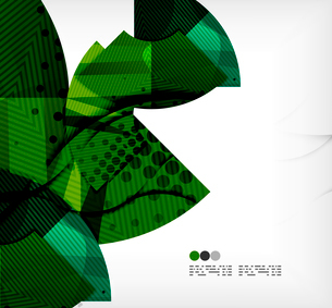 Modern futuristic techno abstract composition, overlapping shapesのイラスト素材 [FYI03098374]