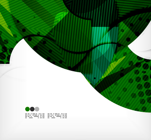 Modern futuristic techno abstract composition, overlapping shapesのイラスト素材 [FYI03098376]