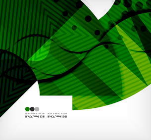 Modern futuristic techno abstract composition, overlapping shapesのイラスト素材 [FYI03098378]