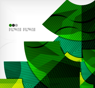 Modern futuristic techno abstract composition, overlapping shapesのイラスト素材 [FYI03098380]
