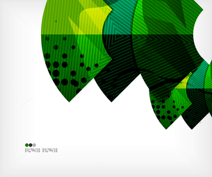 Modern futuristic techno abstract composition, overlapping shapesのイラスト素材 [FYI03098383]