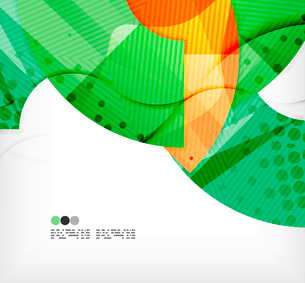 Modern futuristic techno abstract composition, overlapping shapesのイラスト素材 [FYI03098417]