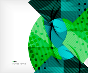 Modern futuristic techno abstract composition, overlapping shapesのイラスト素材 [FYI03098421]