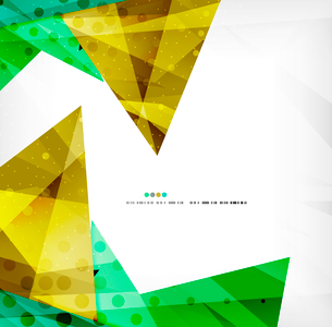 Abstract colorful overlapping shapes 3d compositionのイラスト素材 [FYI03098533]