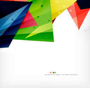 Modern 3d abstract shapes on white layout. Abstract backgroundのイラスト素材 [FYI03098972]