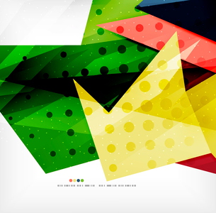 Modern 3d abstract shapes on white layout. Abstract backgroundのイラスト素材 [FYI03098977]