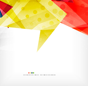 Modern 3d abstract shapes on white layout. Abstract backgroundのイラスト素材 [FYI03098978]