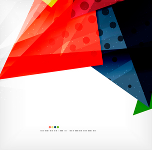 Modern 3d abstract shapes on white layout. Abstract backgroundのイラスト素材 [FYI03098979]