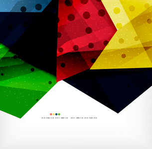 Modern 3d abstract shapes on white layout. Abstract backgroundのイラスト素材 [FYI03098980]