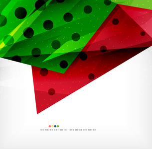 Modern 3d abstract shapes on white layout. Abstract backgroundのイラスト素材 [FYI03098981]