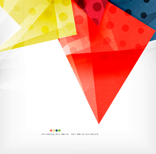 Modern 3d abstract shapes on white layout. Abstract backgroundのイラスト素材 [FYI03098987]
