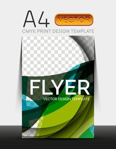 Vector A4 CMYK Modern Flyer Designのイラスト素材 [FYI03099667]
