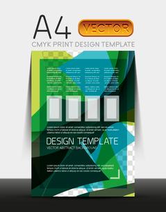 Vector A4 CMYK Modern Flyer Designのイラスト素材 [FYI03099669]