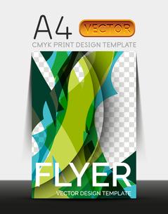 Vector A4 CMYK Modern Flyer Designのイラスト素材 [FYI03099672]