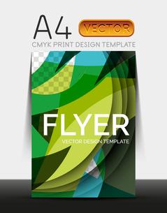 Vector A4 CMYK Modern Flyer Designのイラスト素材 [FYI03099674]