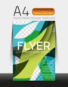 Vector A4 CMYK Modern Flyer Designのイラスト素材 [FYI03099676]