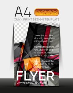 Vector A4 CMYK Modern Flyer Designのイラスト素材 [FYI03099704]