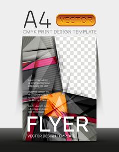 Vector A4 CMYK Modern Flyer Designのイラスト素材 [FYI03099706]