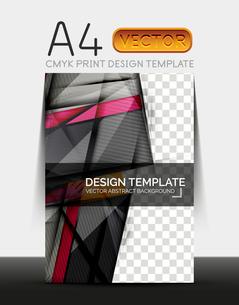 Vector A4 CMYK Modern Flyer Designのイラスト素材 [FYI03099707]
