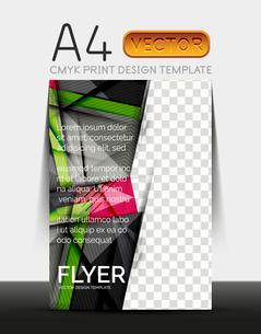 Vector A4 CMYK Modern Flyer Designのイラスト素材 [FYI03099709]