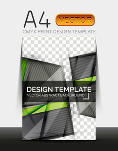 Vector A4 CMYK Modern Flyer Designのイラスト素材 [FYI03099711]