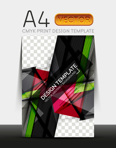 Vector A4 CMYK Modern Flyer Designのイラスト素材 [FYI03099717]