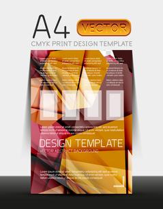 Vector A4 CMYK Modern Flyer Designのイラスト素材 [FYI03099745]