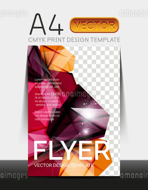 Vector A4 CMYK Modern Flyer Designのイラスト素材 [FYI03099747]