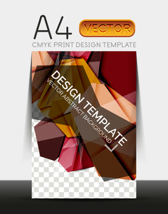 Vector A4 CMYK Modern Flyer Designのイラスト素材 [FYI03099750]