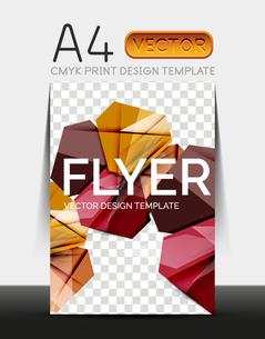 Vector A4 CMYK Modern Flyer Designのイラスト素材 [FYI03099751]