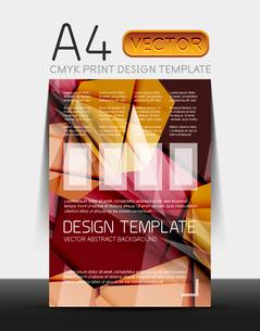 Vector A4 CMYK Modern Flyer Designのイラスト素材 [FYI03099754]