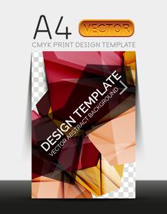 Vector A4 CMYK Modern Flyer Designのイラスト素材 [FYI03099755]