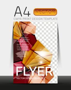 Vector A4 CMYK Modern Flyer Designのイラスト素材 [FYI03099766]