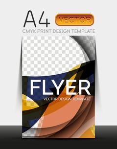 Vector A4 CMYK Modern Flyer Designのイラスト素材 [FYI03099777]