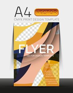 Vector A4 CMYK Modern Flyer Designのイラスト素材 [FYI03099780]