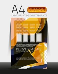 Vector A4 CMYK Modern Flyer Designのイラスト素材 [FYI03099781]