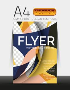 Vector A4 CMYK Modern Flyer Designのイラスト素材 [FYI03099784]