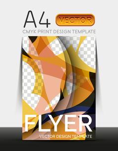 Vector A4 CMYK Modern Flyer Designのイラスト素材 [FYI03099786]
