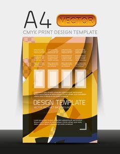 Vector A4 CMYK Modern Flyer Designのイラスト素材 [FYI03099787]