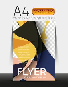 Vector A4 CMYK Modern Flyer Designのイラスト素材 [FYI03099791]