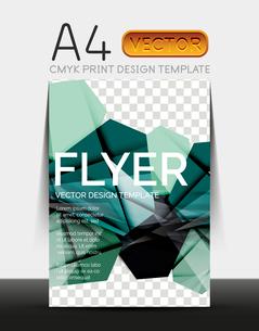 Vector A4 CMYK Modern Flyer Designのイラスト素材 [FYI03099800]