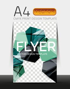 Vector A4 CMYK Modern Flyer Designのイラスト素材 [FYI03099802]