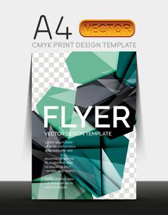 Vector A4 CMYK Modern Flyer Designのイラスト素材 [FYI03099806]