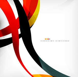 Business wave corporate background, flyer, brochure design templateのイラスト素材 [FYI03099824]