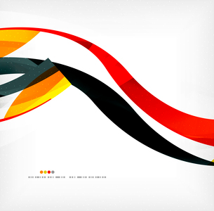 Business wave corporate background, flyer, brochure design templateのイラスト素材 [FYI03099832]