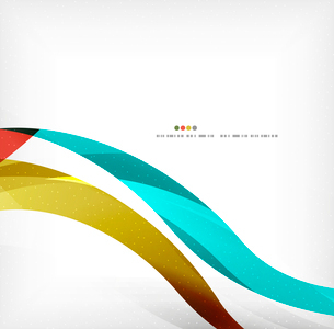 Business wave corporate background, flyer, brochure design templateのイラスト素材 [FYI03099834]